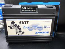 5-PIECE DRUM MIC SYSTEM|SAMSON