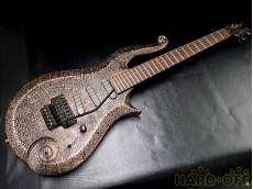 エレキギター・変形ボディ ES-100PR SUGIZO PRINCE