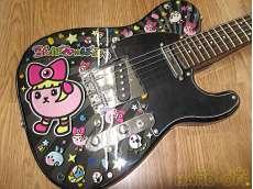 エレキギター・テレキャスタータイプ|豆しぱみゅぱみゅ