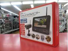 CMS-7001 防犯カメラ ワイヤレスカメラ&モニター ELPA 64-19534