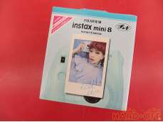 【未使用品】instax mini8 blue 64-206732