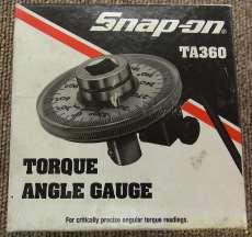 トルクアングルゲージ 1/2インチ ドライブ|SNAP-ON