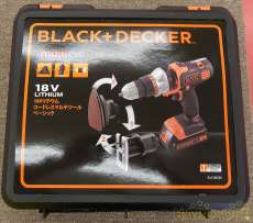 【18V 1.5Ah×2】|BLACK&DECKER