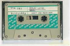 DOLBY LEVEL 400Hz|AIWA
