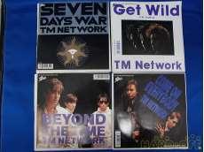 TM NETWORK 7インチ4枚セット EPIC Records