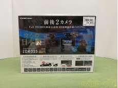 ドライブレコーダー ZDR025 前後2カメラ|COMTEC