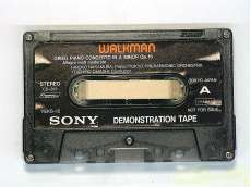 WALKMAN DEMONSTRATION TAPE|SONY