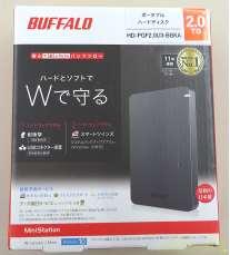 外付けHDD 2TB|BUFFALO
