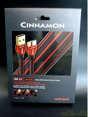 ➊ 美品 USB3.0 CINNAMON(0.75m)|audioquest