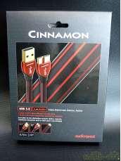 ➋  美品 USB3.0 CINNAMON(0.75m)|audioquest