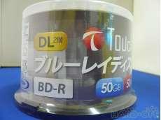 ブルーレイディスク BD-R DL 50枚 EIYAAA