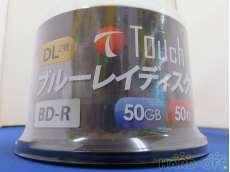録画用 BD-R DL 6倍速 50枚スピンドル|TOUCH