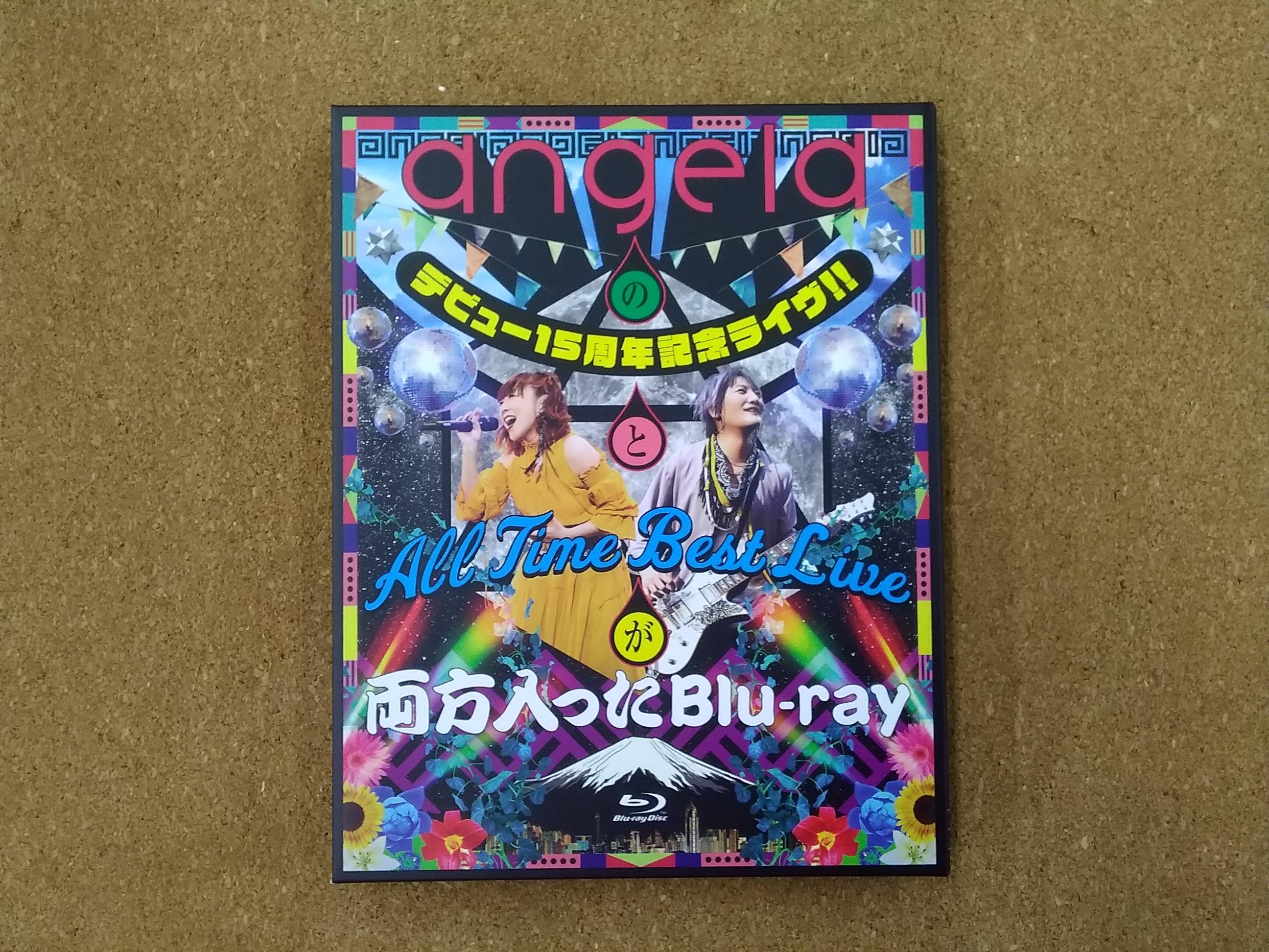 angela 15周年ライウ゛|キングレコード