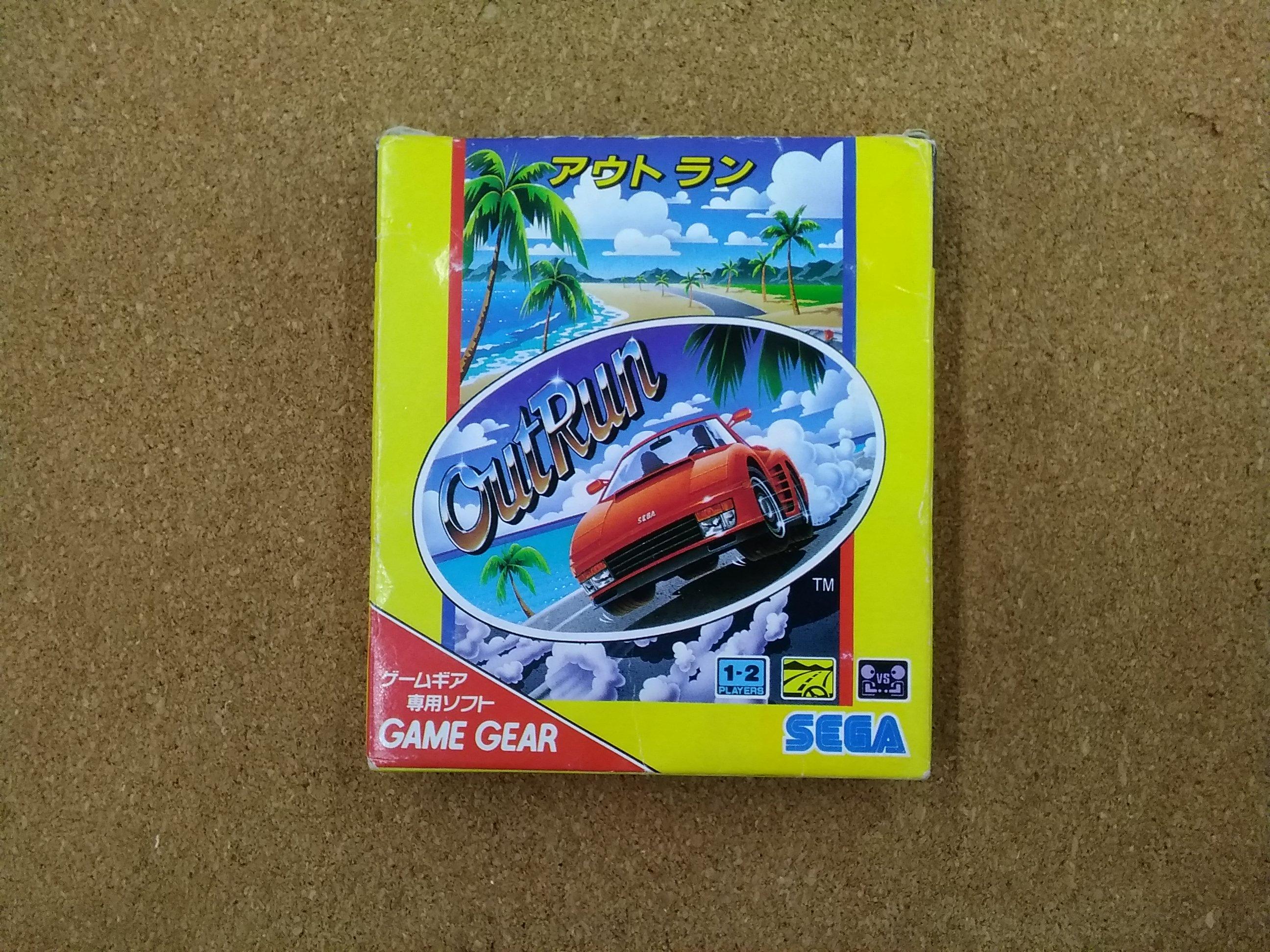 アウトラン g-3213 ゲームギアソフト|セガ
