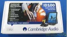 iPod|CAMBRIDGE AUDIO