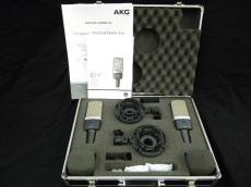 コンデンサーマイクセット C214 STEREO SET|AKG