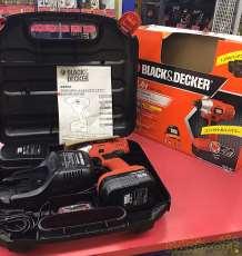 電動インパクトドライバー|BLACK&DECKER