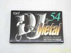 メタルカセットテープ1本|TDK