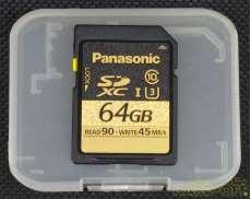 SDXC 64GB UHS-I スピードクラス3|PANASONIC