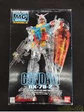MG ガンダム クリスタルバージョン|BANDAI