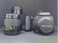 中判カメラ・レンズセット(45mm/75mm/200mm)