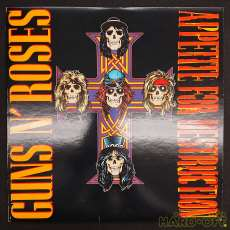 GUNS N' ROSES/APPETITE FOR DESTRUCTION|Geffen Records