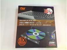 【未使用品】外付けDVDドライブ|NU TECHNOLOGY