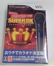 【ソフト未開封品】カラオケ JOYSOUND Wii SUPER DX|JOYSOUND