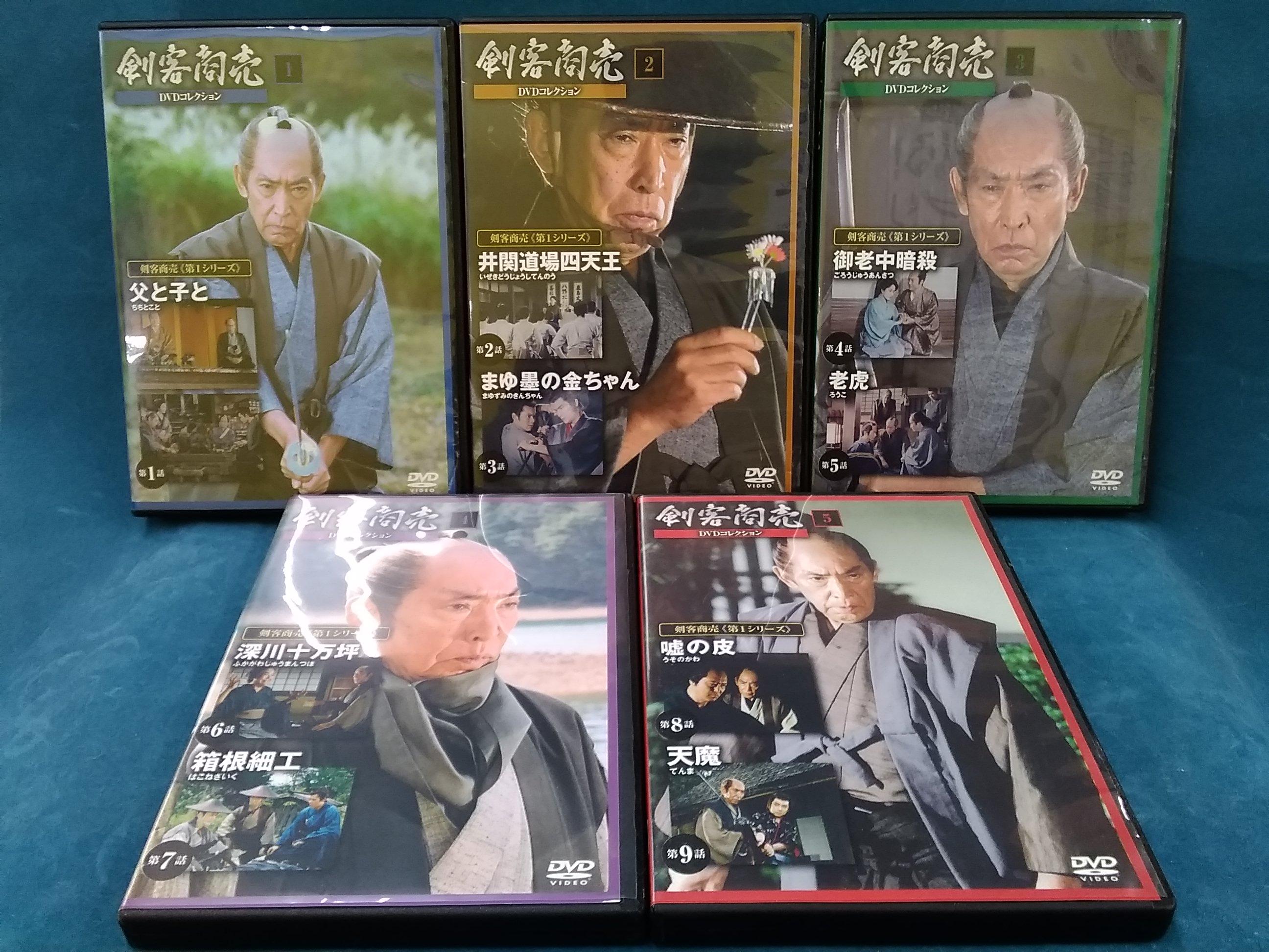剣客商売DVDコレクション|デアゴスティーニ
