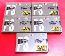 メタルテープ(未使用 50分)|FUJIFILM