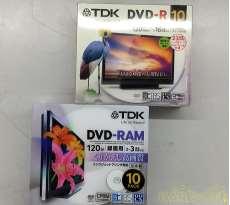 未使用 録画用DVD-RAM +DVD-R デジタル放送録画対応 2Pセット|TDK