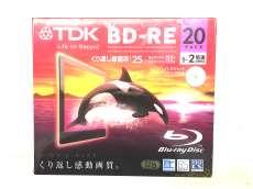 未使用 TDK 録画用 BD-RE 25GB 1-2倍速 20枚|TDK