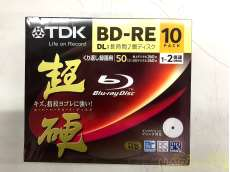 ① 未使用 TDK 録画用ブルーレイディスク 超硬シリーズ|TDK