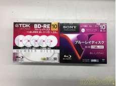 未使用 SONY+DKK  繰り返し録画用BD-RE 25GB 2Pセット|TDK+SONY