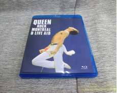 QUEEN ROCK MONTREAL & LIVE AID [Blu-ray]|DTS-HD