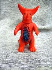 年代物玩具 ブルマァクミニソフビ古代怪獣 ゴモラ