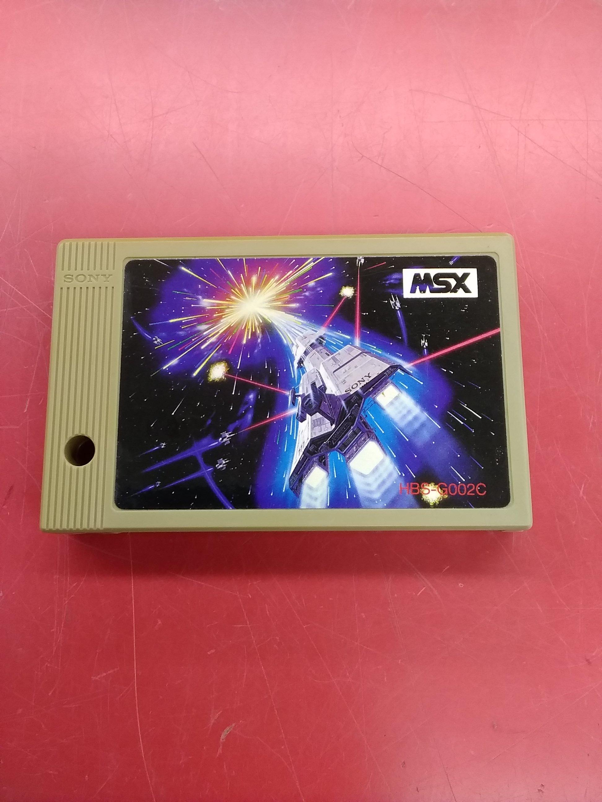 MSXソフト ジュノファースト|SONY