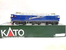 新品同様 HOゲージKATO HOゲージ EF510 500 北斗星色  電気機関車|KATO