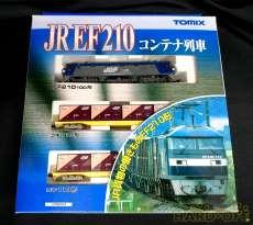 【貨物列車を代表するEF210(桃太郎)とコキ110】|TOMIX