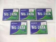 MDデータディスク 5個セット|SONY