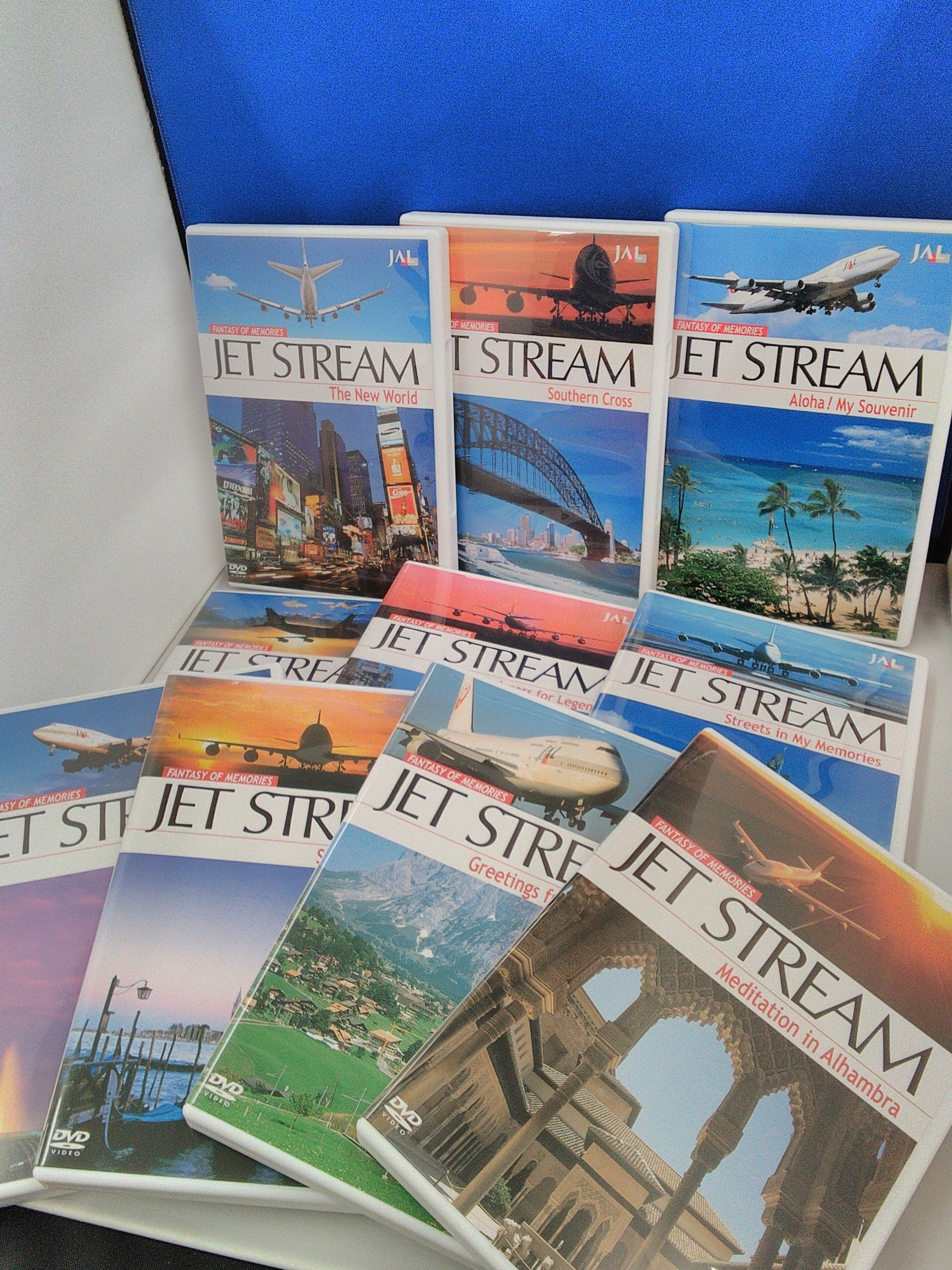 JET STREAM DVDセット JAL