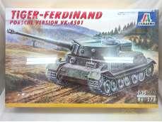 1/35 ドイツ重戦車 フェルディナント・タイガー|ITALERI イタレリ