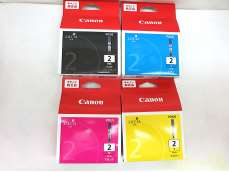 インクカートリッジ 4色セット 02|CANON