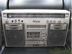 【訳あり】メタルテープ対応ラジオカセットレコーダー|NATIONAL