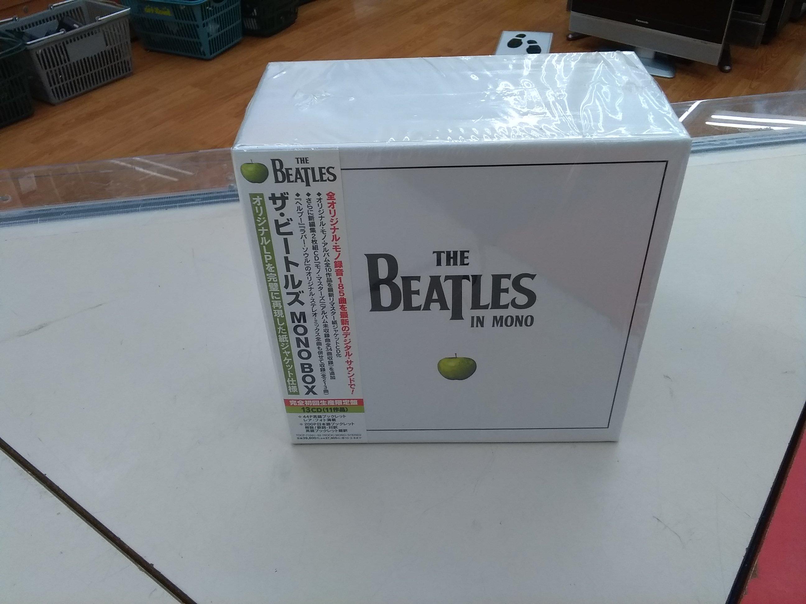 ザ・ビートルズ MONO BOX[完全初回生産限定盤]|UNIVERSAL MUSIC