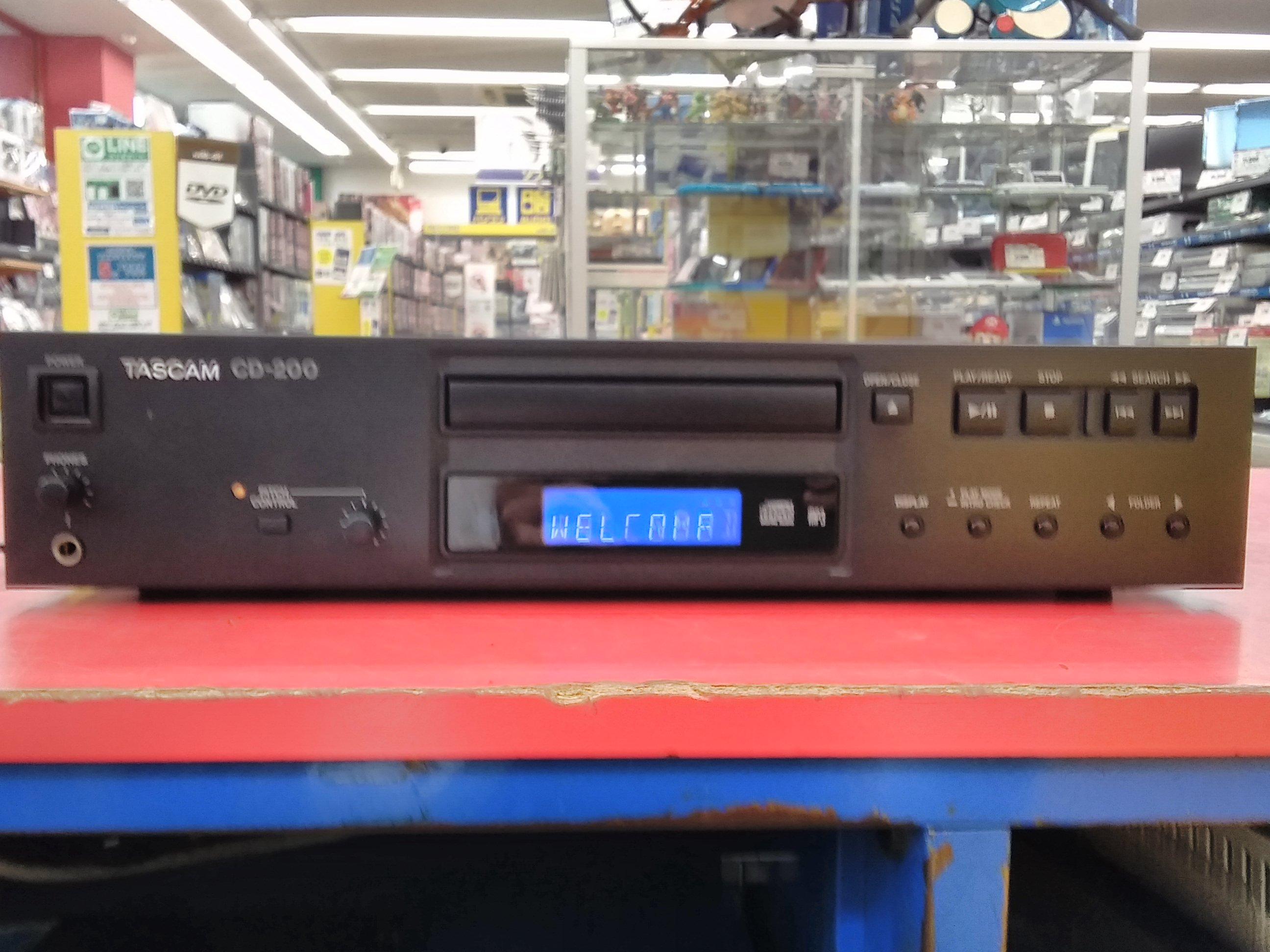 TASCAM/【ジャンク】CDプレーヤー/CD-200|TASCAM