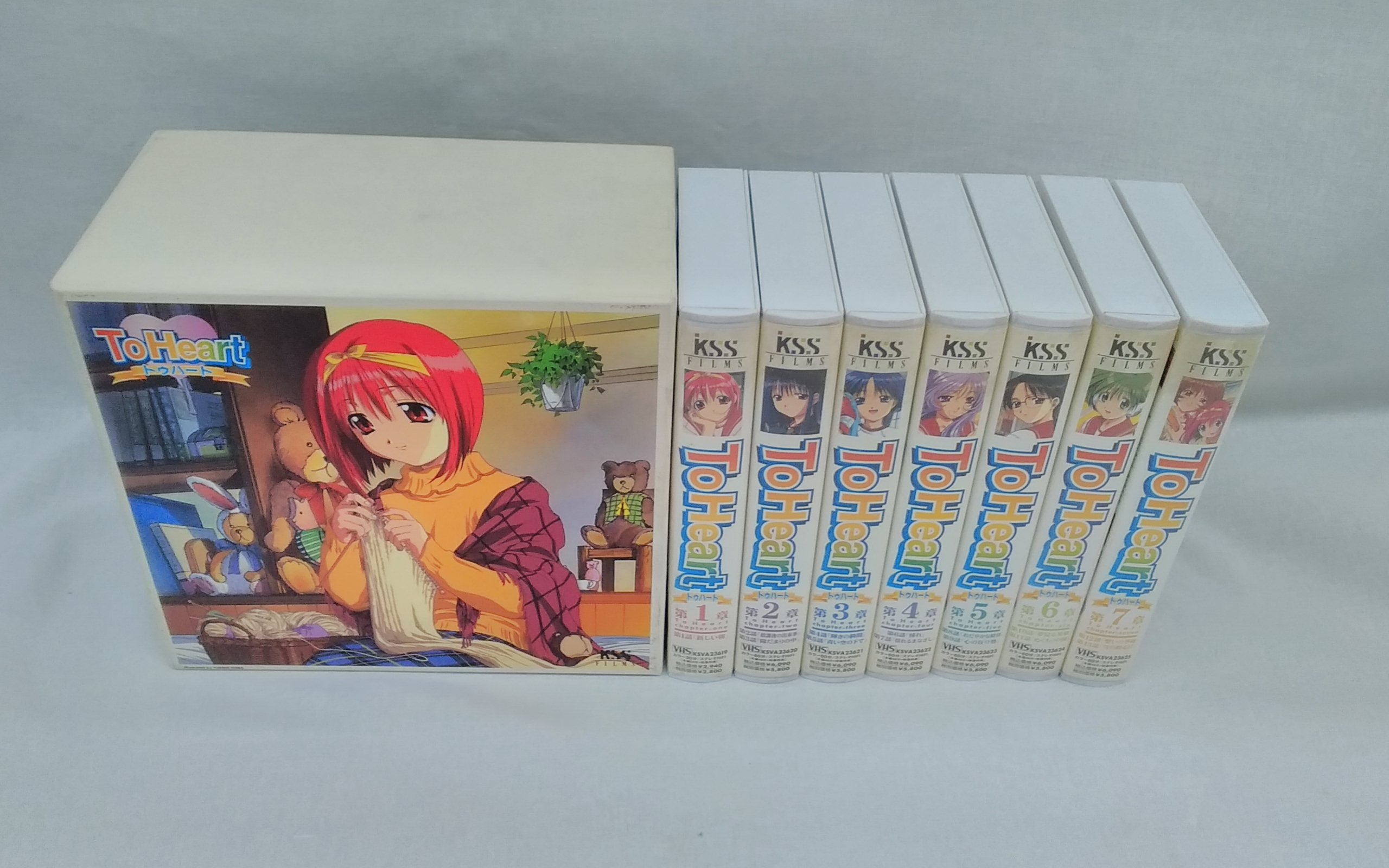 TOHEART VHS 7巻セット|ケイエスエス