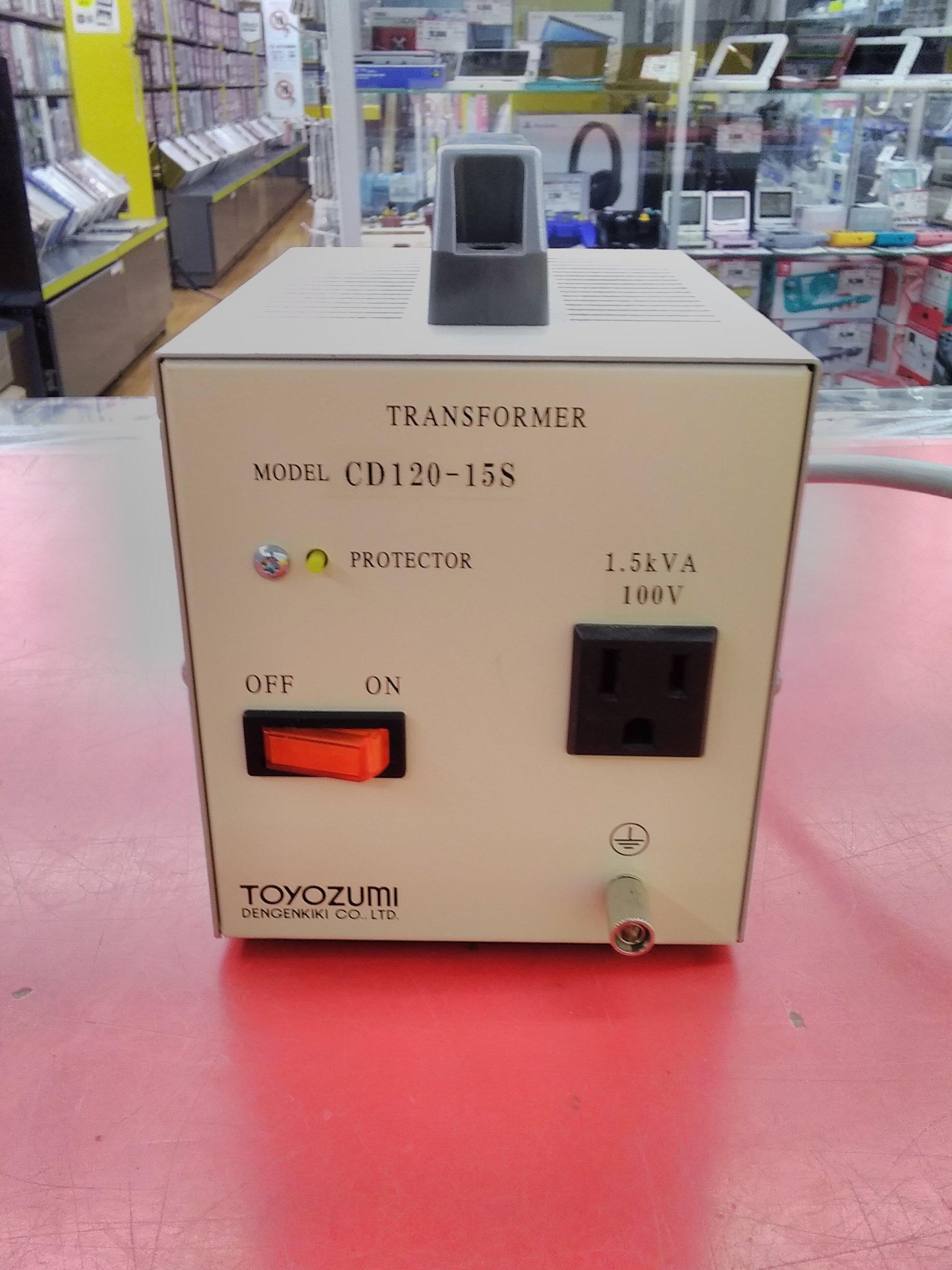 豊澄電源 CD-S海外シリーズ 115V~120V対100V|TOYOZUMI