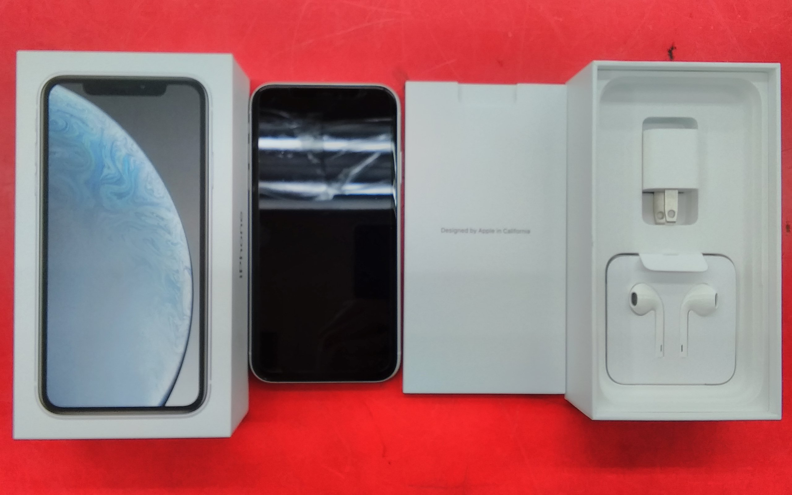 AU/iPHONE XR 128GB/OS:14.3|AU