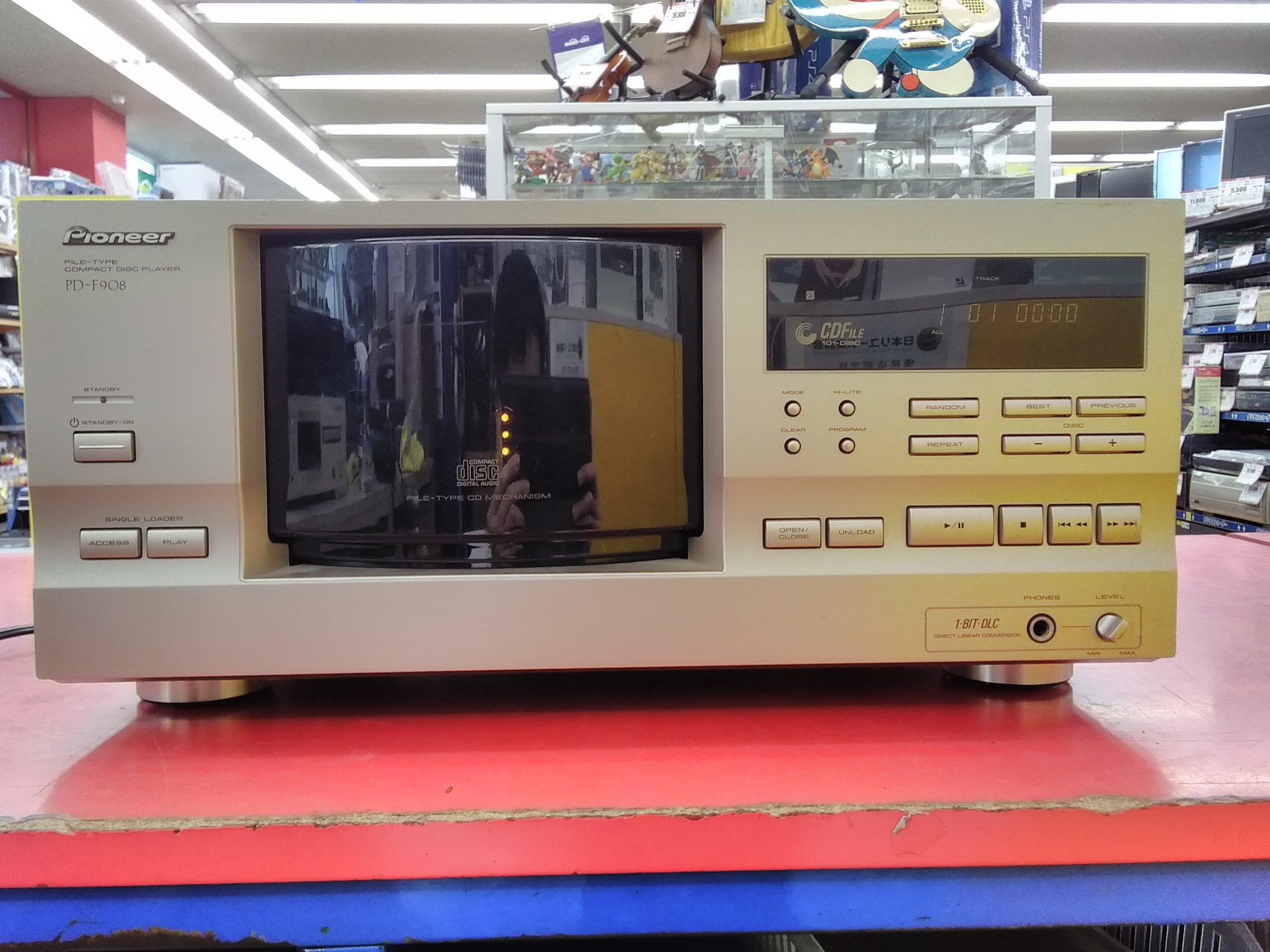 【ジャンク】Pioneer/CDプレーヤー/PD-F908|PIONEER